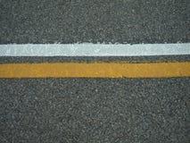 排行路 免版税库存图片