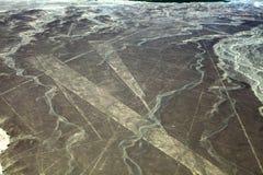 排行nazca 免版税库存图片