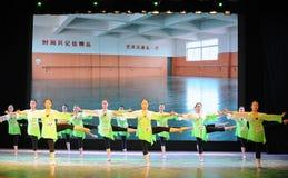 排练教室这全国舞蹈训练 免版税库存照片