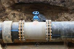 排水设备管子 库存照片
