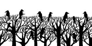 掠夺坐树 免版税图库摄影