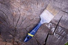 掠过在木背景 绘的木表面 图库摄影