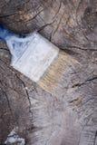 掠过在木背景 绘的木表面 库存照片