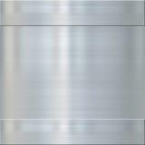 掠过的细致的金属钢 免版税库存图片