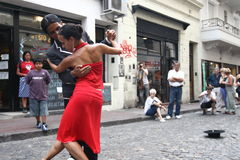 探戈在布宜诺斯艾利斯 库存照片