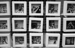 探戈的小图片在市场上 图库摄影