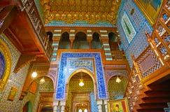 探索Manial宫殿,开罗,埃及 图库摄影
