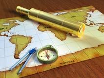探险家工具 库存照片