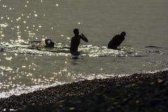 探索法国海滨在尼斯 图库摄影