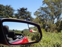 探索的加利福尼亚葡萄酒国家在一个晴天 库存图片