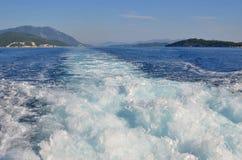 探索的爱奥尼亚海 免版税库存照片