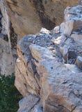接合的峭壁 免版税图库摄影