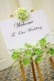 接收婚礼 免版税库存照片