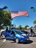 接触一个卡车教育事件,拉塞福, NJ,美国 免版税库存图片