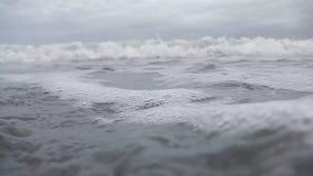 接踵而来的波浪 影视素材