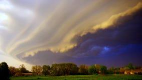 接踵而来的风暴 库存照片