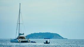 接近普吉岛的小海岛 图库摄影