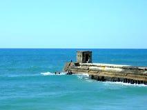 接近海的一个地方 免版税库存照片