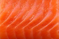 接近的三文鱼 免版税库存照片