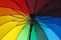 接近的伞 图库摄影