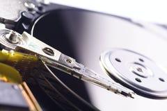 接近的光盘harddrive  免版税图库摄影