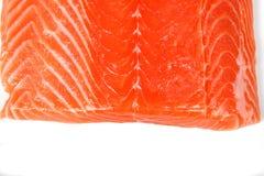 接近的内圆角三文鱼 免版税库存照片