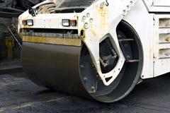 接近的压路机蒸汽 免版税图库摄影