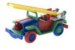 接近的发动机起火玩具 免版税库存图片