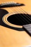 接近的吉他 免版税图库摄影