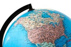 接近的地球 免版税库存图片