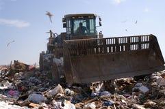 接近的垃圾填埋 图库摄影
