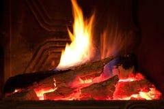 接近的壁炉 免版税库存图片