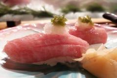 接近的寿司 图库摄影