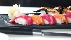 接近的寿司 影视素材