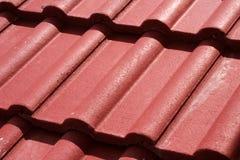 接近的屋顶 免版税库存照片