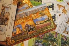 接近的收集印花税 免版税库存照片