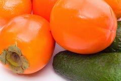 接近的新鲜水果 免版税库存图片
