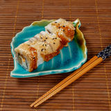 接近的日语卷起寿司 免版税库存图片