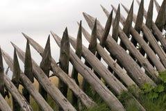 接近的木栅 免版税库存照片