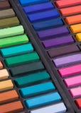 接近的柔和的淡色彩虚拟  免版税库存照片