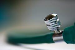接近的橡胶螺丝管 免版税库存照片
