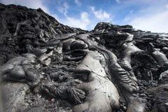 接近的熔岩 免版税库存图片