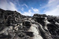 接近的熔岩 图库摄影
