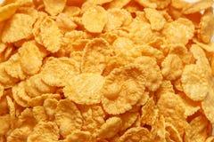 接近的玉米片 免版税库存照片