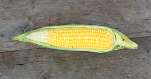 接近的玉米表 库存图片