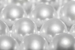 接近的珍珠 免版税库存图片