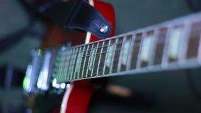 接近的电吉他 股票录像