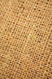 接近的粗砺的纺织品 图库摄影