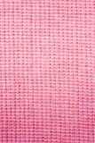 接近的织品粉红色纺织品纹理 图库摄影