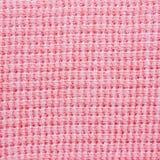 接近的织品粉红色纺织品纹理 免版税库存图片